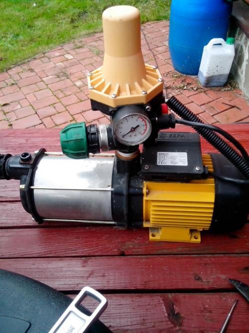 Насос системы автоматического полива Espa 35 5